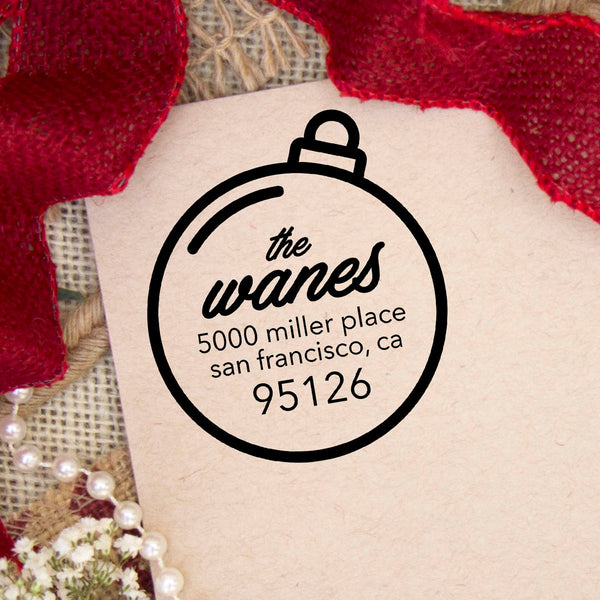 "Return Address Stamp ""Wanes"""