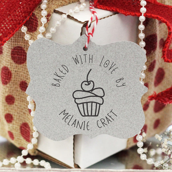 """Baked With Love"" Melanie Craft"" Cupcake"