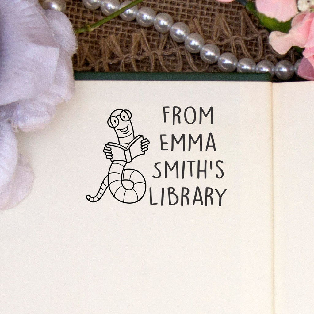 "From the Library of ""Emma"" Book Worm"