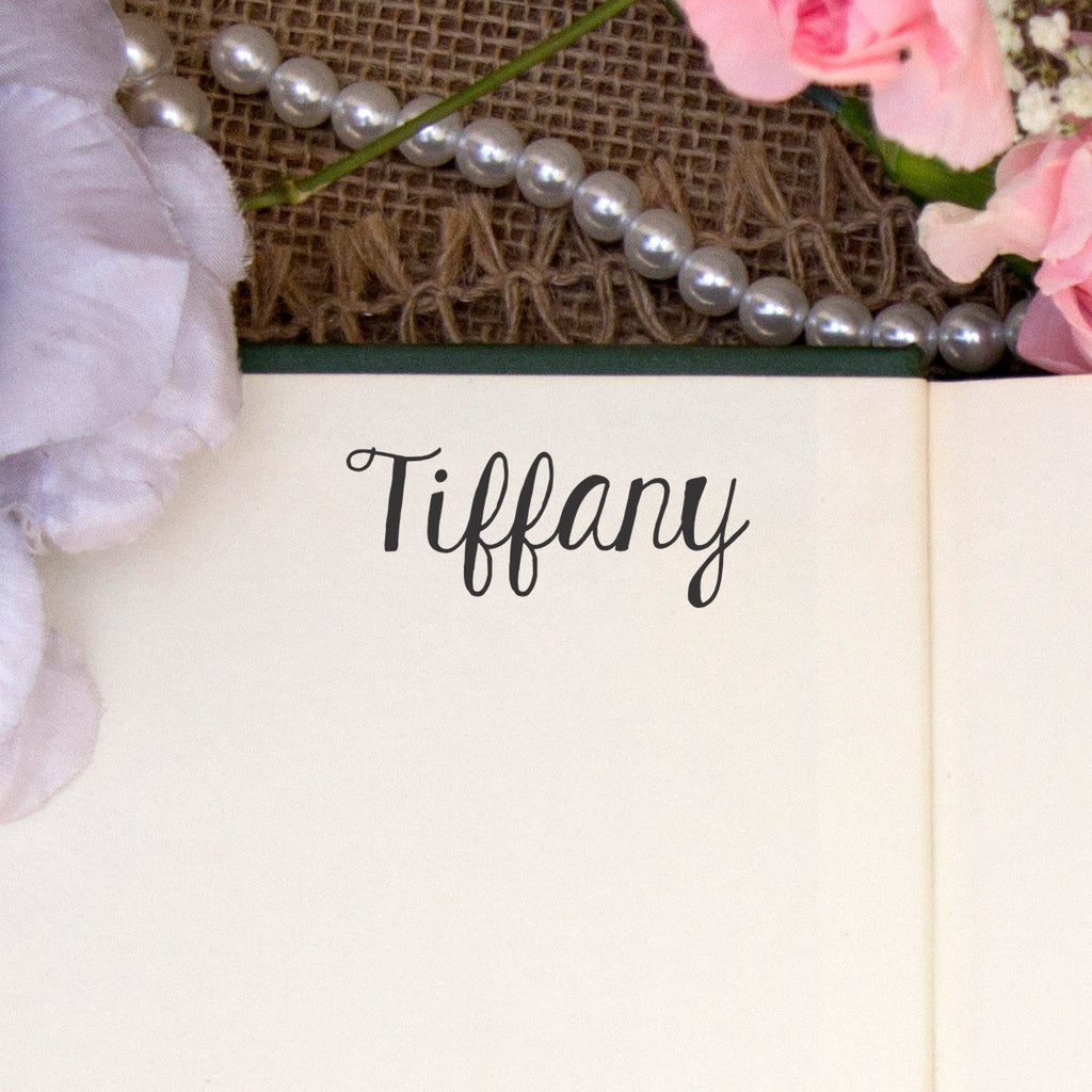 "Personalized Kids Name Stamp - ""Tiffany"""