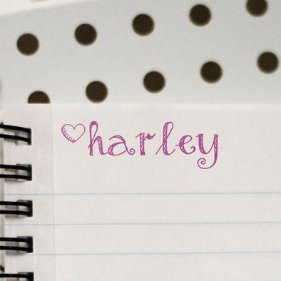 Personalized Kids Name Stamp