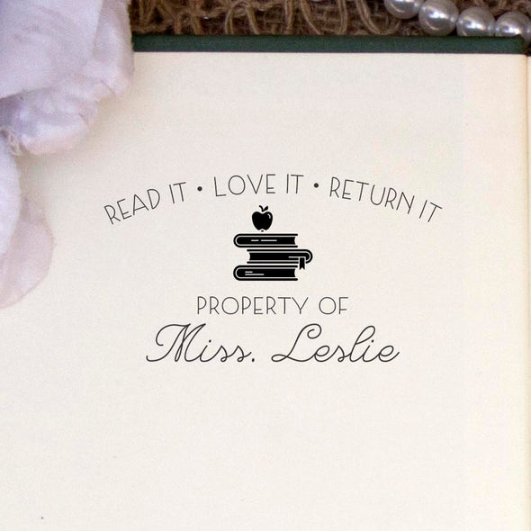 Read It Love It Return It Teacher Stamp