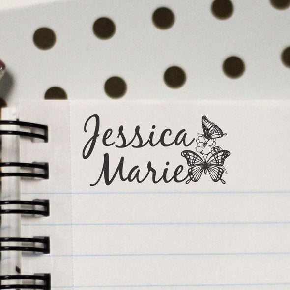 "Personalized Kids Name Stamp - ""Jessica Marie"""