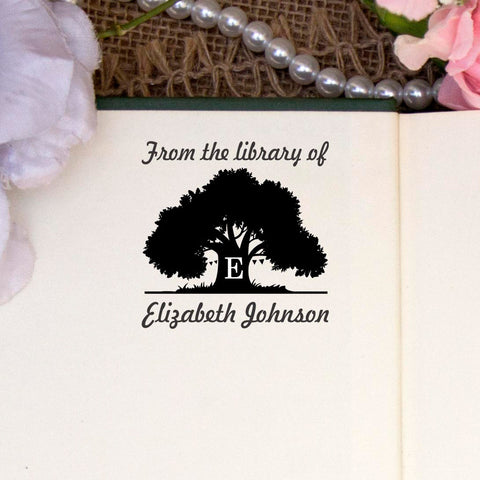 "From the Library of ""Elizabeth"" Tree"