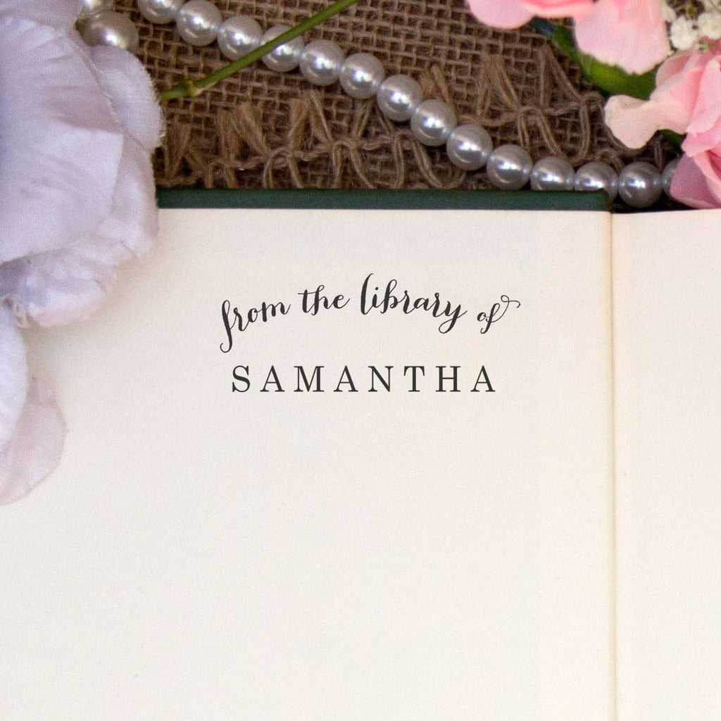"From the Library of ""Samantha"""
