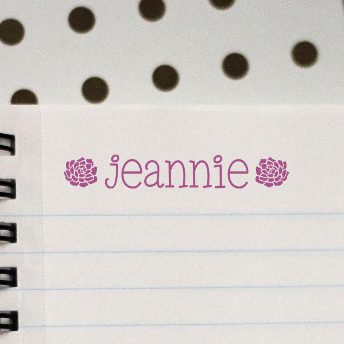 Personalized Kids Name Stamp -