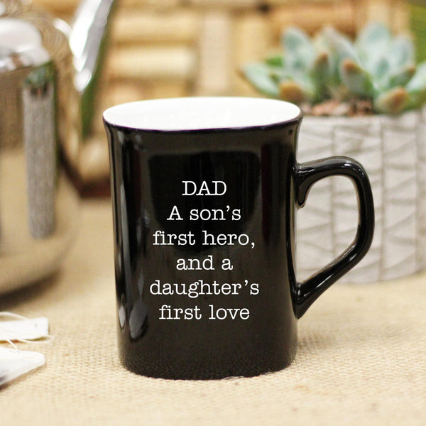 Dad, Son Daughter Ceramic Mug
