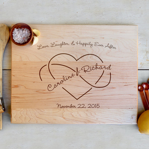"Cutting Board ""Caroline & Richard"""