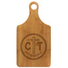 "Paddle Cutting Board ""Anchor & Rope Initials"""