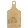 "Paddle Cutting Board ""Rooted in Love - The Walls"""