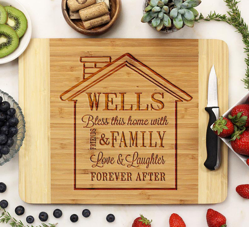"Cutting Board ""Wells House Design"""