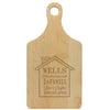 "Paddle Cutting Board ""Wells House Design"""