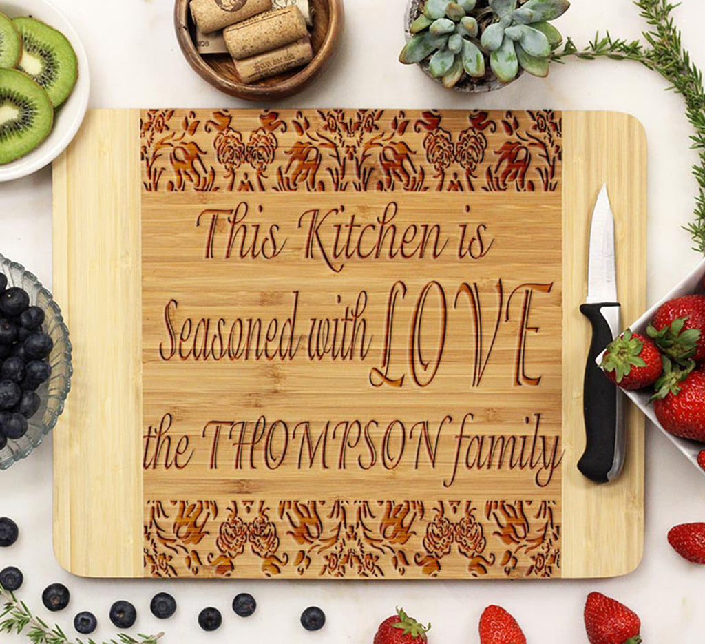 "Cutting Board ""Thompson"" Damask"