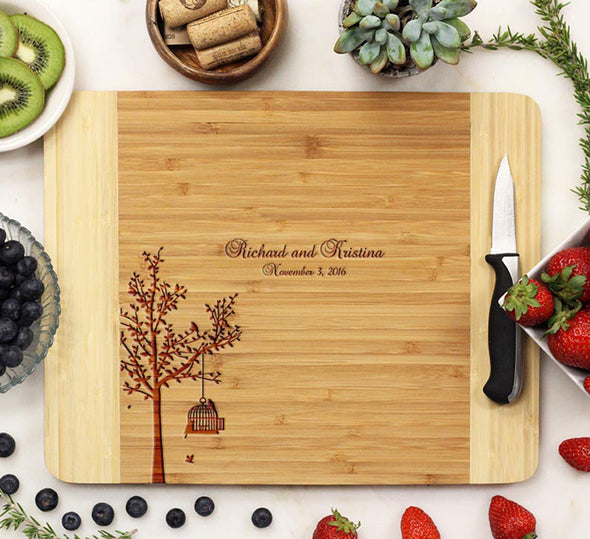 "Cutting Board ""Jonathan & Kristina"""