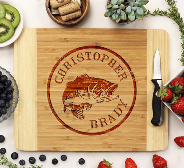 "Cutting Board ""Christopher Brady"" Trout"