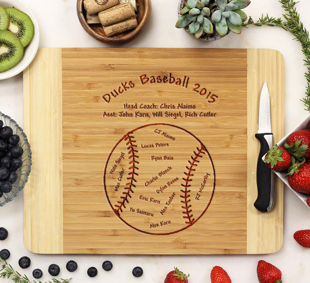 "Cutting Board ""Baseball"""