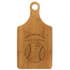 "Paddle Cutting Board ""Baseball"""