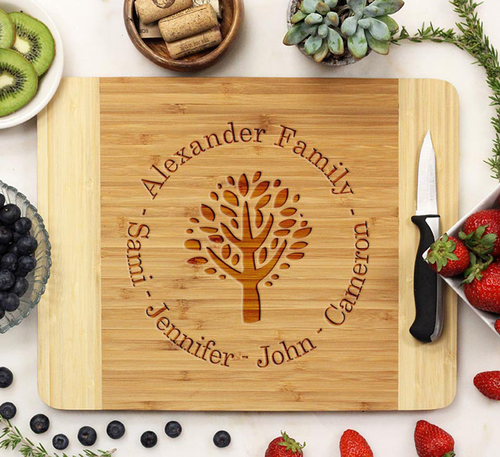 "Cutting Board ""Alexander Family Tree"""