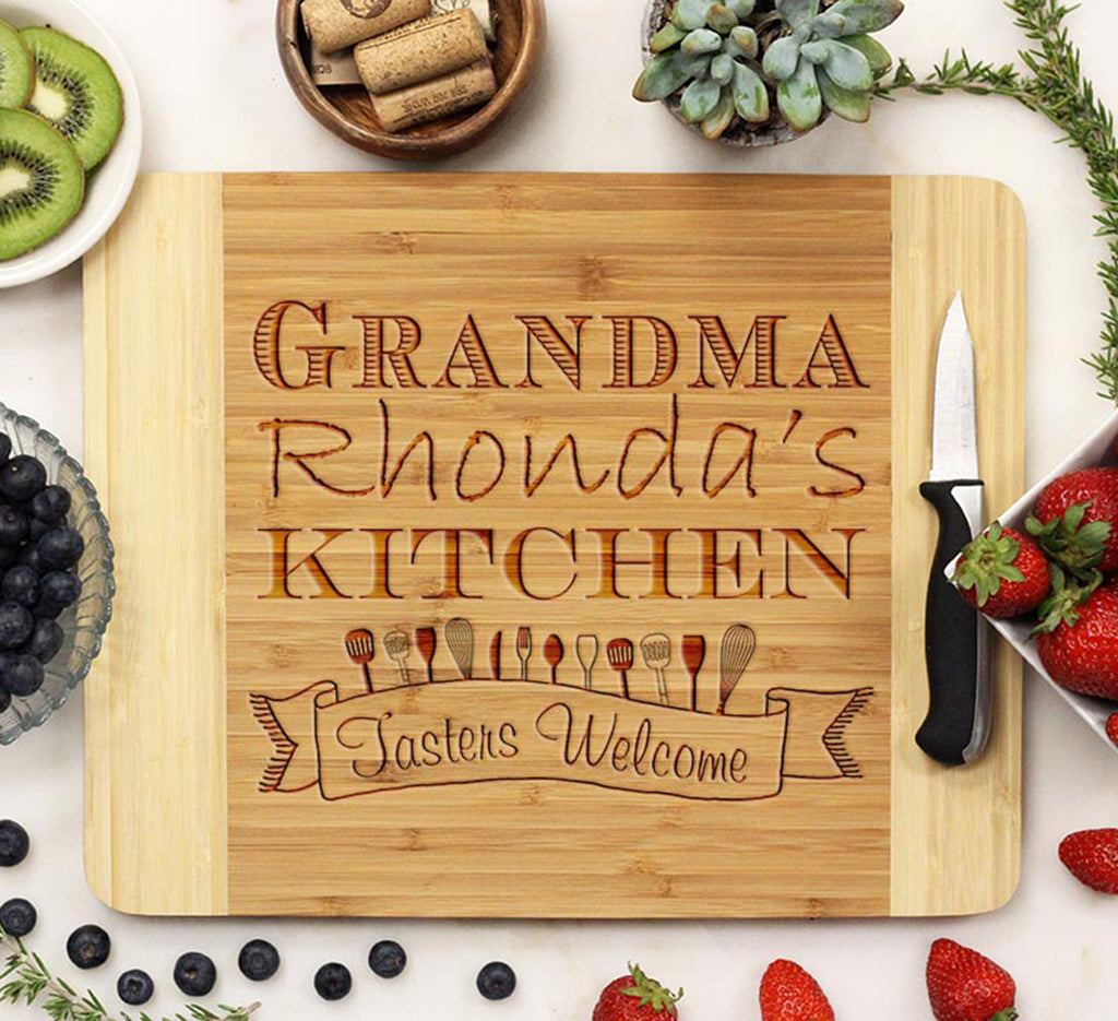 "Cutting Board ""Grandma Rhonda's Kitchen"""