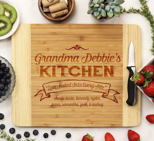 "Cutting Board ""Grandma Debbie's Kitchen"""