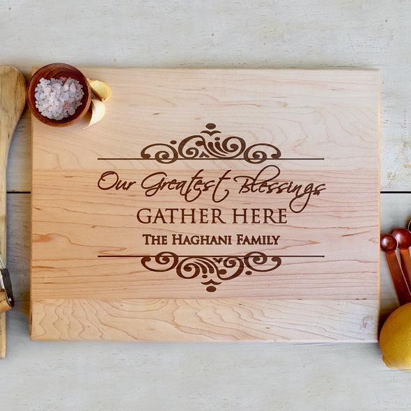 Maple Engraved Cutting Board