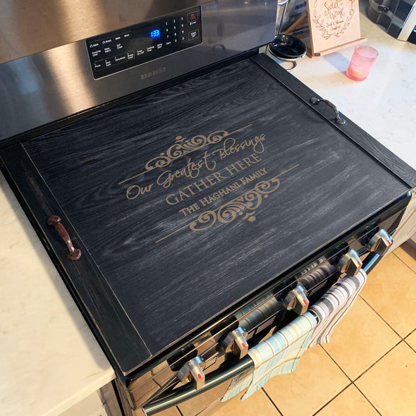 Custom Stove Top Cover, Ottoman Tray, Personalized Noodle Board, Custom Ottoman Tray, Noodle Board, Stove Top Cover, Stove Top Cover, Wooden Serving Tray, Breakfast Tray, Rustic Tray, Farmhouse decor.