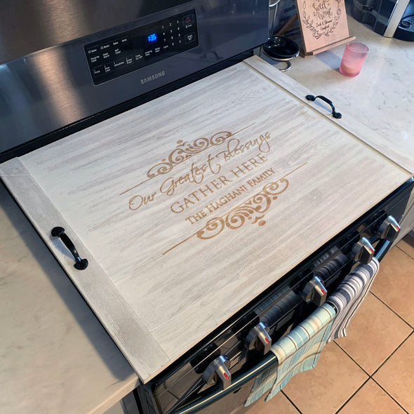 Custom Stove Top Cover, Ottoman Tray, Personalized Noodle Board, Custom Ottoman Tray, Noodle Board, Stove Top Cover, Breakfast Tray, Rustic Tray, Farmhouse decor.