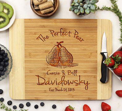 "Cutting Board ""The Perfect Pear"""