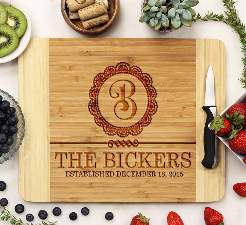 "Cutting Board ""Bickers Curly B"""
