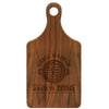 "Paddle Cutting Board ""Grill Master - Jack's BBQ"""