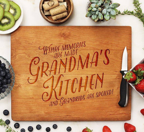 "Cutting Board ""Grandma's Kitchen"""