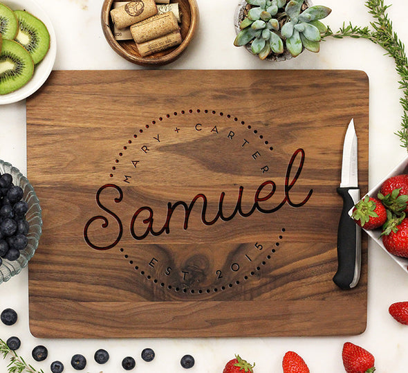 "Cutting Board ""Samuel"""