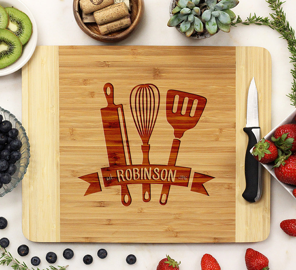 "Cutting Board ""Cooking Tools"""