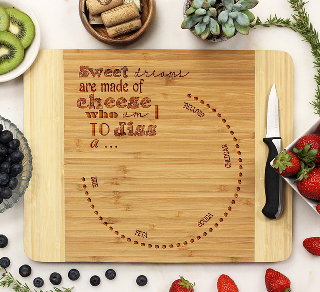 "Cutting Board ""Sweet Cheese"""