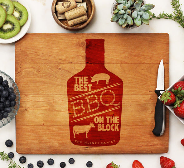 Cutting Board, Best BBQ on the Block
