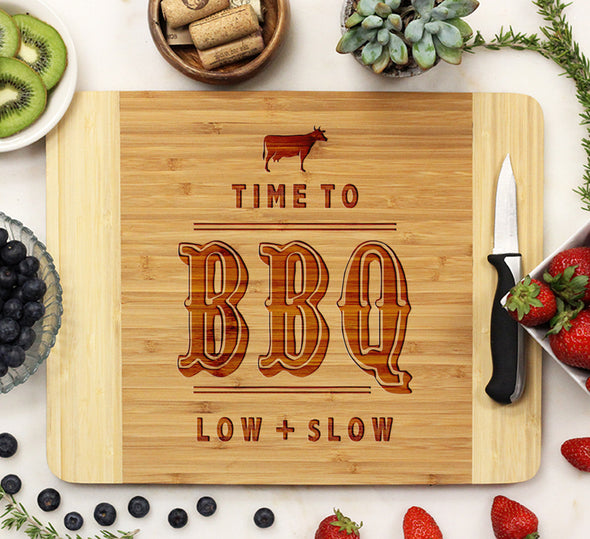 Cutting Board, Time to BBQ Low n Slow