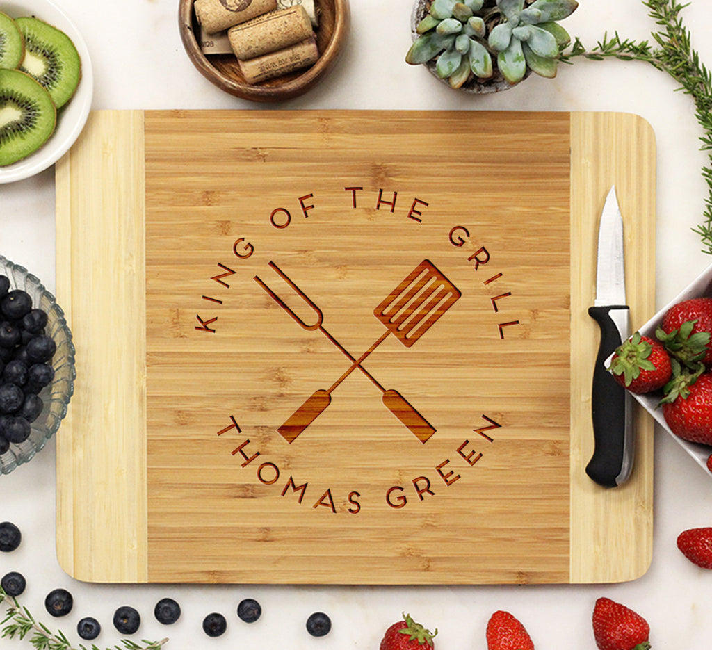 Cutting Board, King of the Grill - Thomas Green