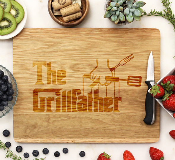 The Grill Father - Cutting Board