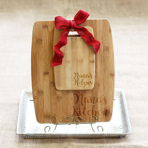 "Cutting Board Set - ""Nana's Kitchen & Helper"""