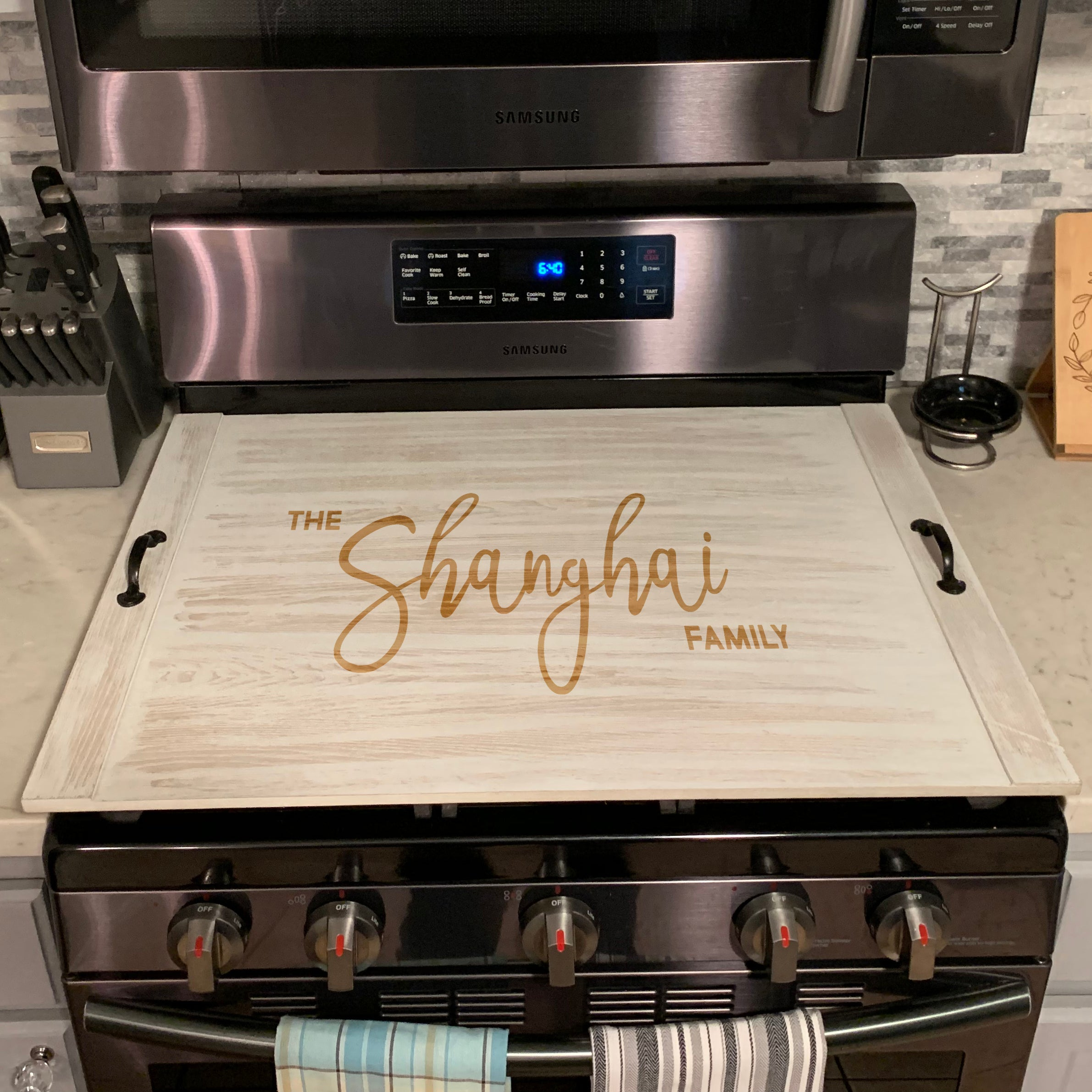 Amazing Ottoman Tray Custom Noodle Board Personalized Stove Top Cover Shanghai Family Gamerscity Chair Design For Home Gamerscityorg