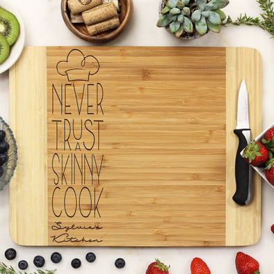 bamboo cutting board, engraved cutting board, personalized cutting board