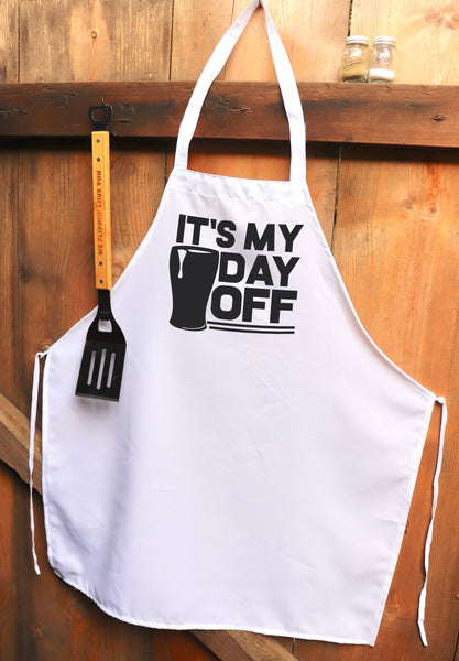 "Chef Apron, Custom Apron, Personalized Apron ""It's My Day Off"""