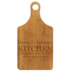 "Paddle Cutting Board ""Sherry & Jacksons Kitchen"""