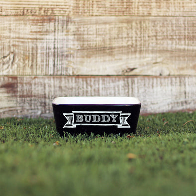 "Dog Bowl - ""Buddy"""