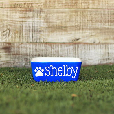 Dog Bowl - 'Single Paw""