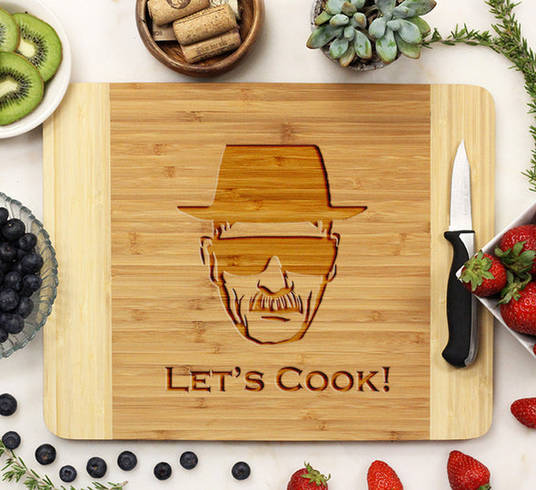"Cutting Board ""Let's Cook!"""