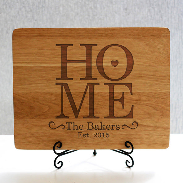 """Home Bakers"" Cutting Board & Stand"