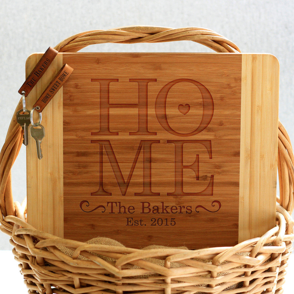 """Home Bakers"" Cutting Board & Key Chains"