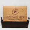 Closing Gift Package Home Sweet Home With Family Last Name First Names
