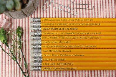funny office pencil quotes